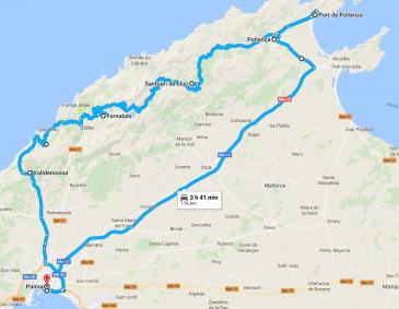 trasa dzień 1