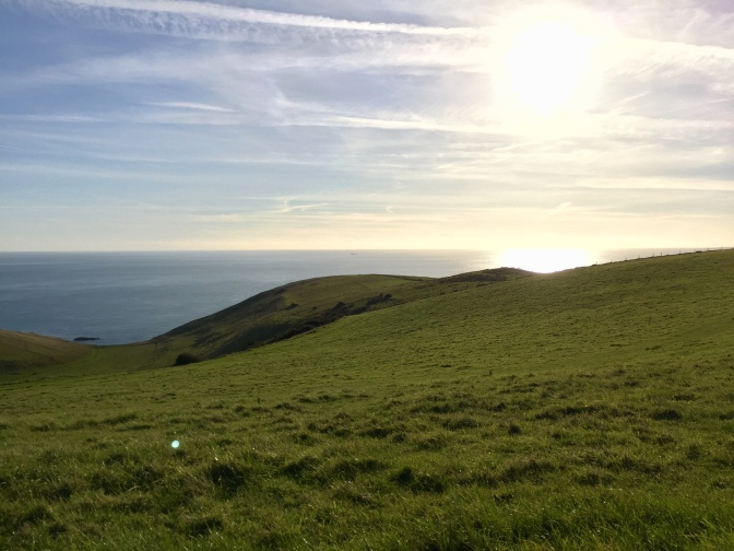 Wybrzeże Dorset w okolicy Durdle Door