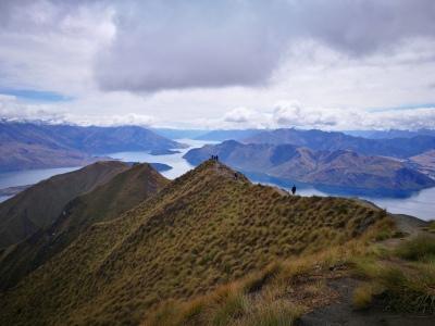 Wspinaczka na Roy's Peak