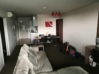 Duży salon oraz 2 sypialnie - w sam raz na walczenie z jetlagiem