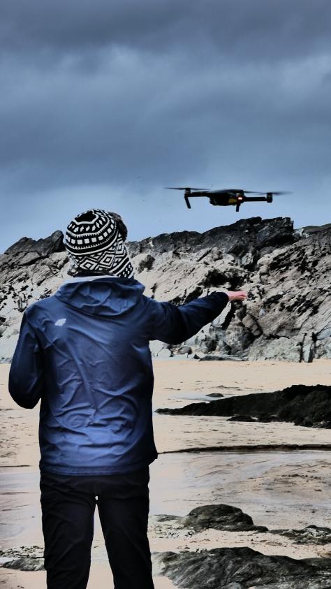 Kornwalia - latanie dronem