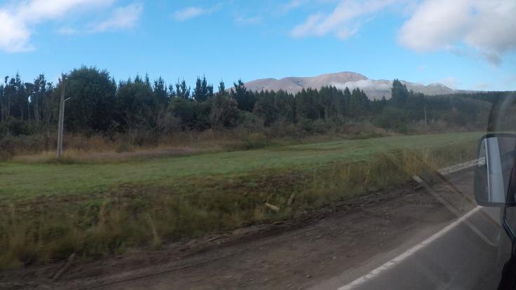Tongariro - powrót